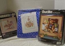 Cross Stitch & Needlepoint Kits Lot (NEW) in Houston, Texas