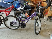 "Like New 24"" Girl Mountain Bike Purple in Glendale Heights, Illinois"