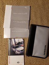 2004 Nissan Altima Complete Owners Manual in Leesville, Louisiana
