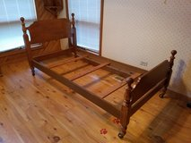 Twin Bed - Solid Maple Vintage in New Lenox, Illinois