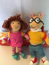 Arthur and DW dolls in St. Charles, Illinois
