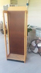 Freestanding pegboard stand for craft and craft shows in Baytown, Texas