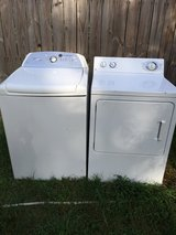 HE Whirlpool Cabrio Washer and Extra Large Capacity Dryer in Leesville, Louisiana