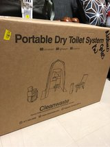 portable dry toilet system in Okinawa, Japan