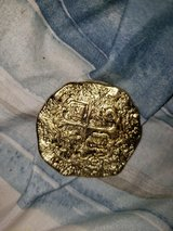 Pirate gold  coin in Fort Leonard Wood, Missouri