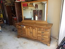 Maple dresser in Oswego, Illinois