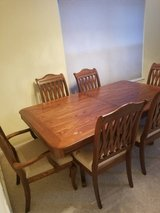 beautiful dining table and chairs in Oswego, Illinois
