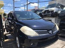 Nissan Tiida for parts in Okinawa, Japan