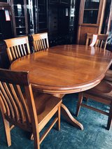 Dining table  oack with 6 chairs in Okinawa, Japan