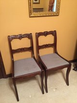 Set 2 Antique chairs( hand carved) 1800s in Leesville, Louisiana