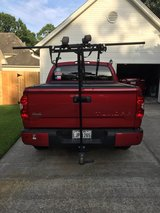 T rack for receiver hitch. Yakima rollers with roof carrier in Houston, Texas
