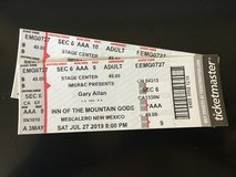Gary Allan Tickets in El Paso, Texas
