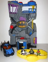 Imaginext Batman Bat Cave Playset + Batmobile - Penguin - Action Belt in Joliet, Illinois