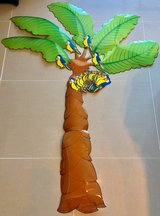 Laminated Coconut Tree with Birds Classroom Bulletin Board or Decoration in Okinawa, Japan