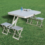 Cabela's Folding Aluminum Picnic Table for Camping in Kingwood, Texas
