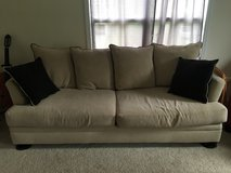 3 piece couch and Ottoman set in Camp Lejeune, North Carolina