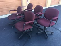 5 Cloth Office Chairs in Westmont, Illinois