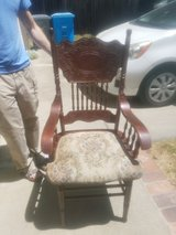 Vintage chair in Travis AFB, California