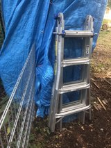5-1 5-in-1 Telescoping 18 ft. Reach Aluminum Multi-Position Ladder in Ramstein, Germany