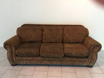 Brown Couch in Ramstein, Germany