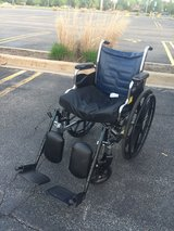 Invacare Tracer EX2 Wheel Chair in Glendale Heights, Illinois