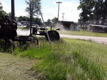 antique tractor in Cleveland, Texas