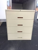 lateral large File Cabinet, 4 drawers. in Westmont, Illinois