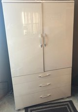 3 Drawer Dresser Chest with Cabinet Doors in New Lenox, Illinois