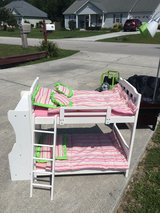 Spider Man furniture, Dollhouse Bookcase, American Girl Bunk Beds in Wilmington, North Carolina