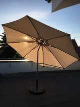 Large Umbrella with Stand in Stuttgart, GE