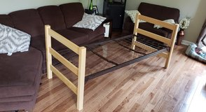 Twin XL bed frame in Naperville, Illinois