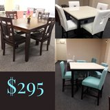 Your Choice 5pc Dining Sets in Travis AFB, California