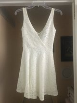 New with Tags!  White Lace Tank Dress - Sz Small in Naperville, Illinois