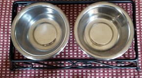 Double Cat Food Bowls in Chicago, Illinois