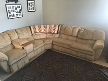 Sectional w/Hide a Bed in Aurora, Illinois