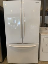 Samsung beautiful white refrigerator in Kingwood, Texas