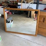 Oak framed Mirror in Joliet, Illinois
