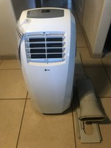 LG 10,000 BTU Portable AC Air Conditioner Unit EUC in Fairfield, California