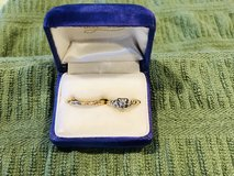 Vintage 1940 Diamond Engagement Ring & Wedding Ring in New Lenox, Illinois