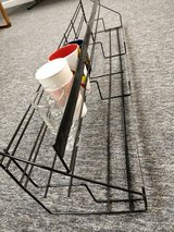 2 Tier Retail counter table or kitchen cabinet pantry DISPLAY RACK flea market summer fair canni... in Glendale Heights, Illinois