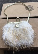 Small Hairy Faux Fur Purse in Chicago, Illinois
