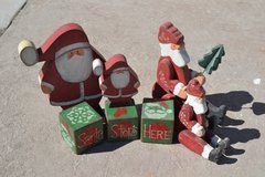 Santa Clauses (4) in Alamogordo, New Mexico