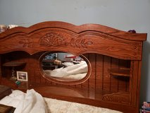 Queen bed frame dresser , and chest of drawers in Camp Lejeune, North Carolina