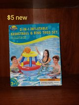 Pool basketball hoop play set in Fairfield, California