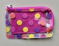 See Through Change Purse - Pink with Polka Dots in Glendale Heights, Illinois