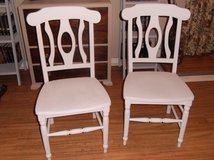 Pair of Wooden Chairs $10 For Both in Baytown, Texas