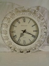 Westminster White Wall Clock  $10 in Pasadena, Texas