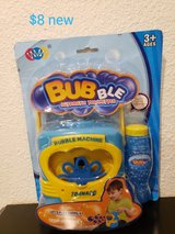 Bubble machine in Fairfield, California