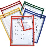 New in Box 25 Reusable Dry Erase Pockets Heavyweight in Okinawa, Japan