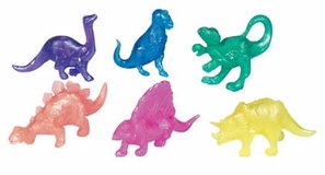 Dinosaurs- Pearlized Squishy (24) NIP in Okinawa, Japan